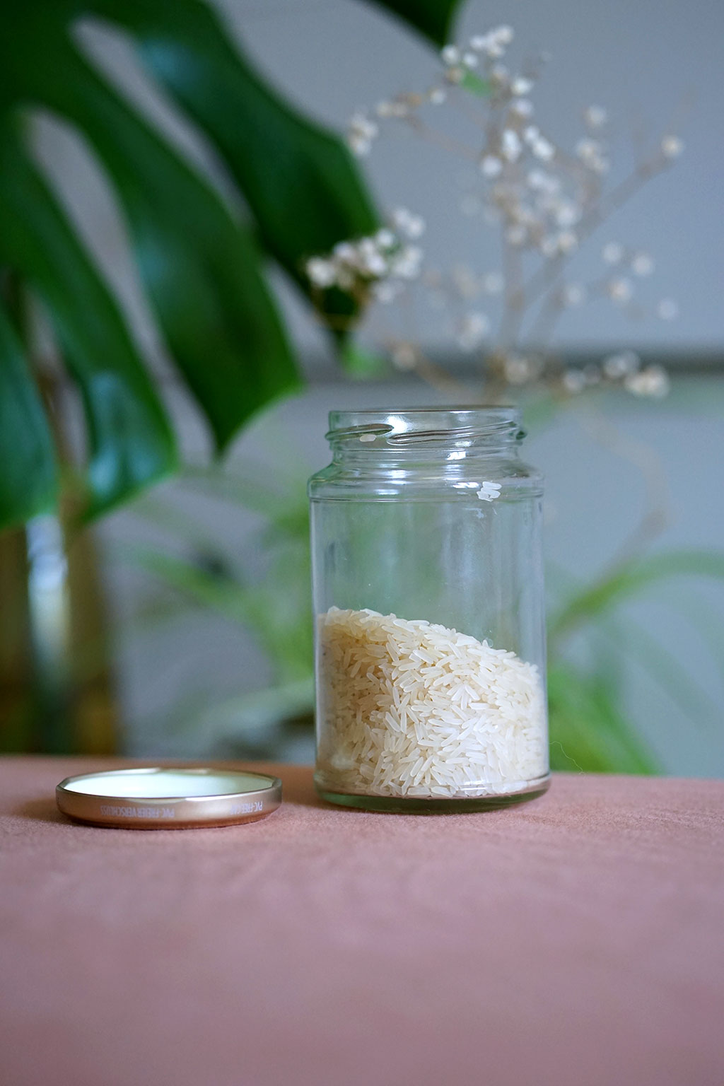 Reiswasser für die Afrohaar Pflege